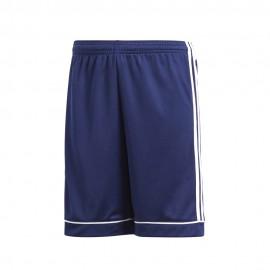 Adidas Pantaloncini Calcio Squadra 17 Team Blu Bianco Bambino
