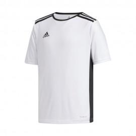 Adidas Maglia Calcio Entrada 18 Team Bianco Nero Bambino