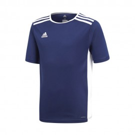 Adidas Maglia Calcio Entrada 18 Team Blu Bianco Bambino