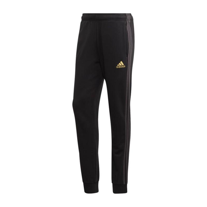 Adidas Pantaloni Allenamento Calcio Juve Garzato Nero Bianco Uomo