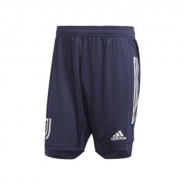 Adidas Pantaloncini Calcio Juve Training Blu Bianco Uomo