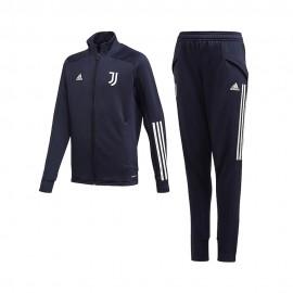 Adidas Tuta Calcio Juve 20/21 Blu Grigio Bambino