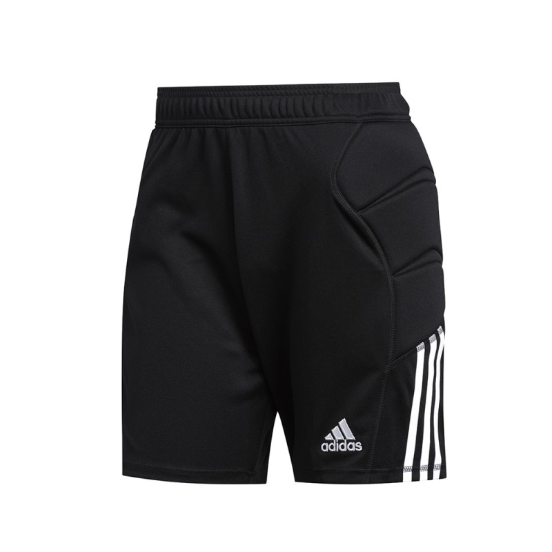 Adidas Pantaloncini Calcio Portiere Tierro Nero Bianco Uomo