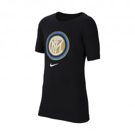 Nike Maglia Calcio Inter Evergreen Nero Bambino