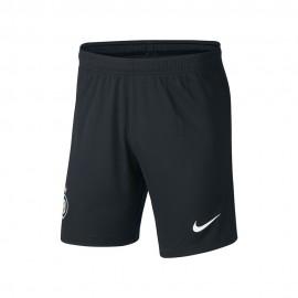 Nike Pantaloncini Calcio Inter Home 20/21 Nero Bianco Uomo