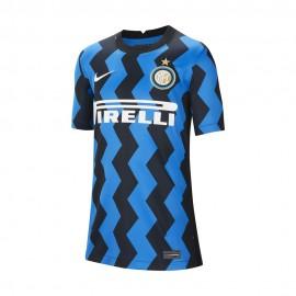 Nike Maglia Calcio Inter Home 20/21 Blu Bianco Bambino