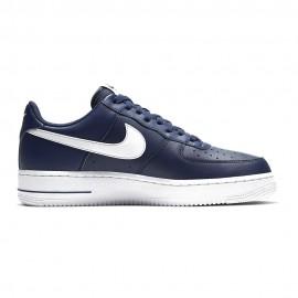 Nike Sneakers Air Force 1 07 Blu Bianco Uomo