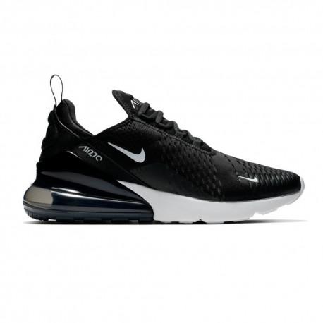 Nike Sneakers Air Max 270 Nero Bianco Donna