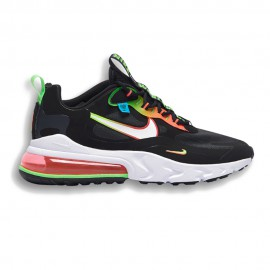 Nike Sneakers Air Max 270 React Se Nero Crimson Uomo