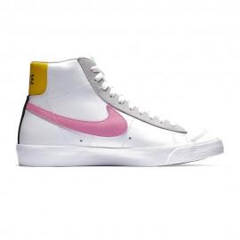 Nike Sneakers Blazer Mid Vntg 77 Bianco Rosa Donna