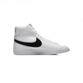 Nike Sneakers Blazer Mid Gs Bianco Baffo Nero Bambino