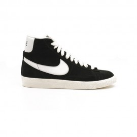 Nike Sneakers Blazer Mid Gs Nero Bianco Bambino