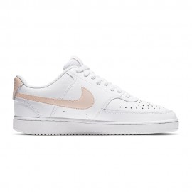 Nike Sneakers Court Vision Bianco Corallo Donna