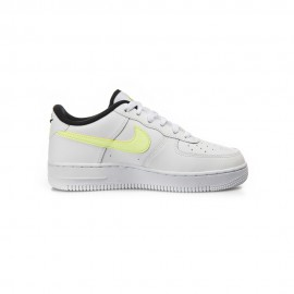 Nike Sneakers Force 1 Lv8 Gs Bianco Nero Bambino