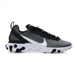 Nike Sneakers React Element Nero Bianco Uomo