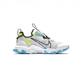 Nike Sneakers React Vision Gs Bianco Blu Bambino