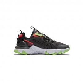 Nike Sneakers React Vision Gs Grigio Verde Bambino