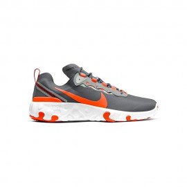 Nike Sneakers Renew Element 55 Gs Smoke Arancio Bambino