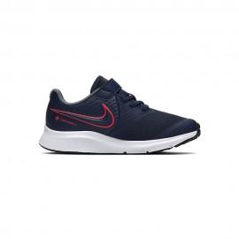 Nike Sneakers Star Runner 2 Ps Blu Rosso Bambino