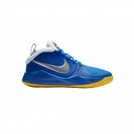 Nike Sneakers Team Hustle D9 Gs Blu Metallic Bambino