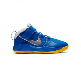 Nike Sneakers Team Hustle D9 Ps Blu Metallic Bambino