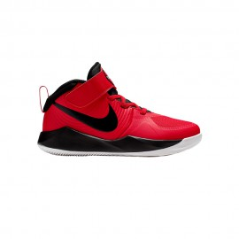 Nike Sneakers Team Hustle D9 Ps Rosso Bianco Bambino