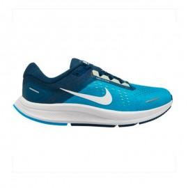 Nike Scarpe Running Air Zoom Structure 22 Laser Blu Bianco Uomo