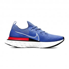 Nike Scarpe Running Epic React Infinity Racer Blu Bianco-Brt Crimson Uomo