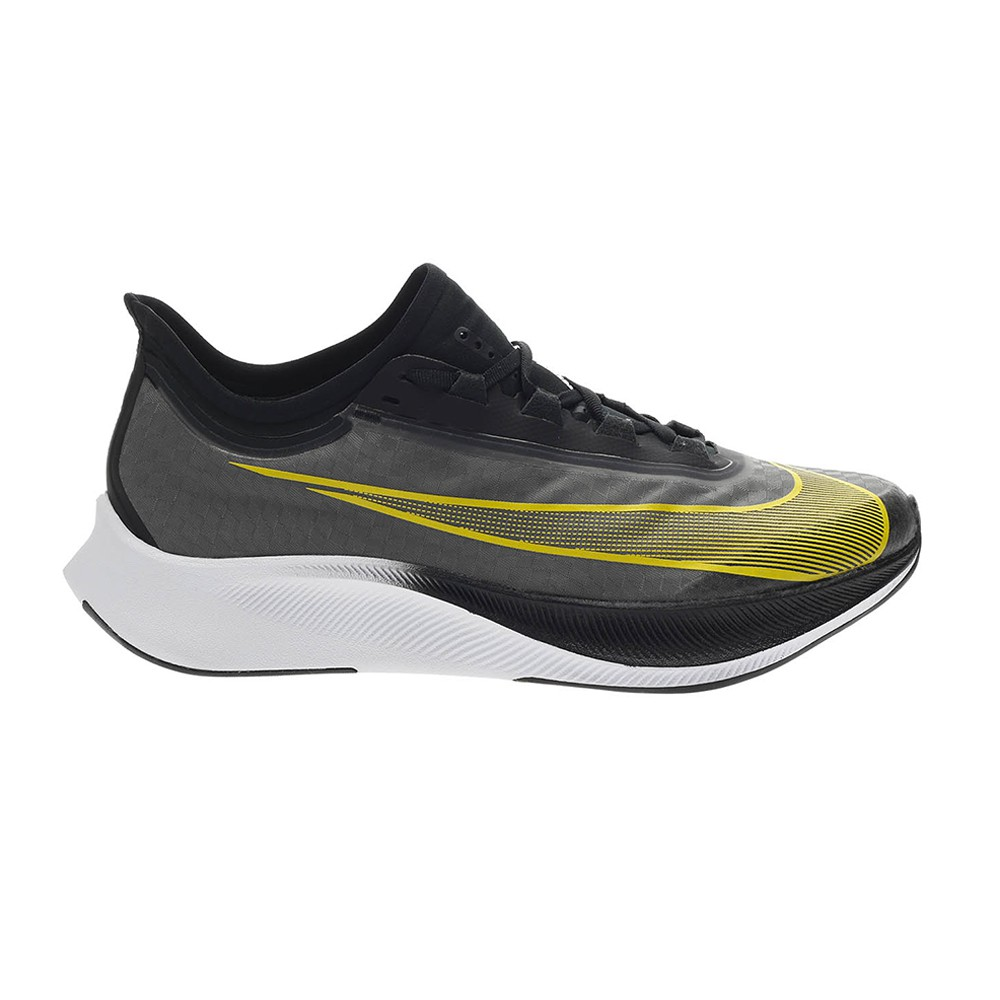 In movimento spina elettrodo  Nike Scarpe Running Zoom Fly 3 Nero Opti Giallo Uomo - Acquista online su  Sportland