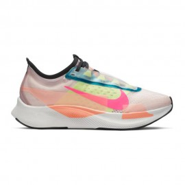 Nike Scarpe Running Zoom Fly 3 Prm Barely Rose Rosa Donna
