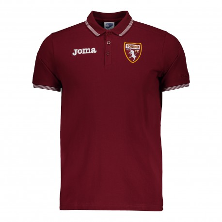 Joma Sport Polo Calcio Torino Free Time Granata Uomo