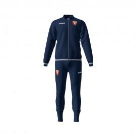 Joma Sport Tuta Calcio Torino Free Time Cotton Blu Uomo