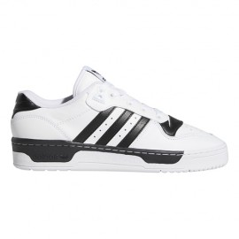 ADIDAS originals sneakers rivalry low bianco nero uomo