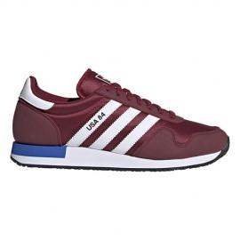 ADIDAS originals sneakers usa 84 burgundy bianco uomo