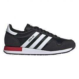 ADIDAS originals sneakers usa 84 nero bianco uomo