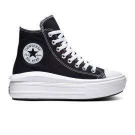 Converse Sneakers Chuck Taylor All Star Move Hi Nero Donna