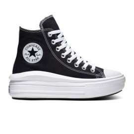 Converse Sneakers Chuck Taylor All Star Move Hi Nero Donna