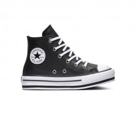 Converse Sneakers All Star Eva Lift Hi Black Bianco Bambino