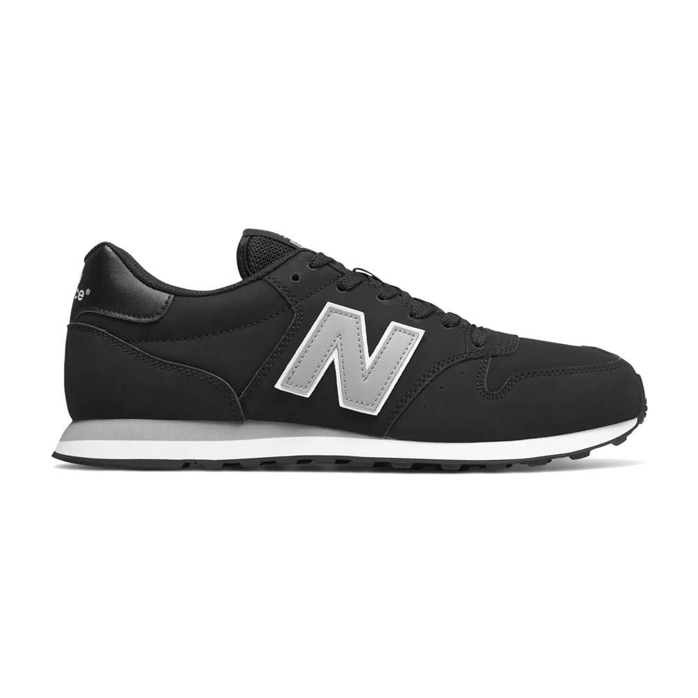 New Balance Sneakers 500 Nero Argento Uomo - Acquista online su ...