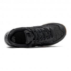 New Balance Sneakers 574 Lea Nero Argento Donna