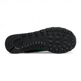 New Balance Sneakers 574 Mesh Suede Verde Bianco Uomo