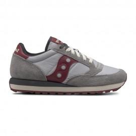 Saucony Sneakers Jazz O Grigio Bordo Uomo