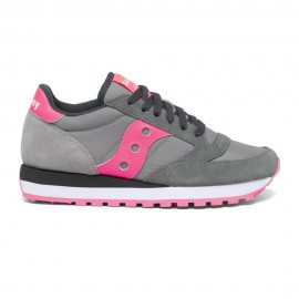 Saucony Sneakers Jazz O Grigio Rosa Donna