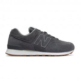 New Balance Sneakers 574 Suede Grigio Uomo