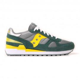 Saucony Sneakers Shadow O Grigio Giallo Uomo
