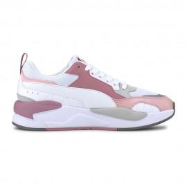 Puma Sneakers X-Ray 2 Square Bianco Rosa Uomo