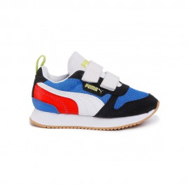 Puma Sneakers R78 V Ps Blu Bianco Bambino