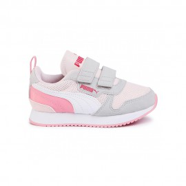 Puma Sneakers R78 V Ps Rosa Bianco Bambino