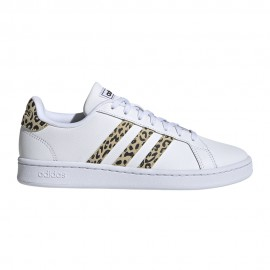 ADIDAS sneakers grand court bianco safari donna