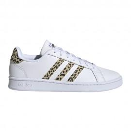 ADIDAS sneakers grand court bianco safari donna